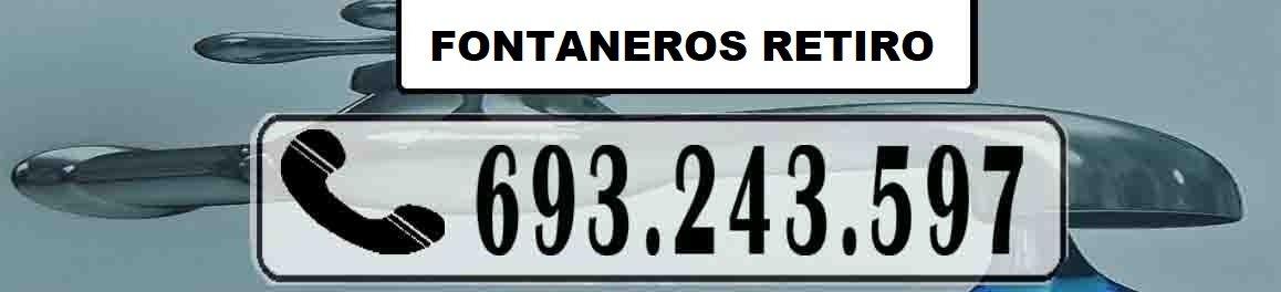 Fontaneros Retiro Madrid Urgentes