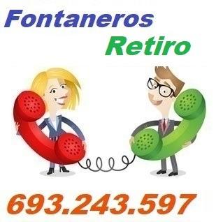 Telefono de la empresa fontaneros Retiro